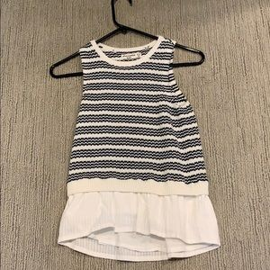 Abercrombie Kids Striped Sweater Tank Top